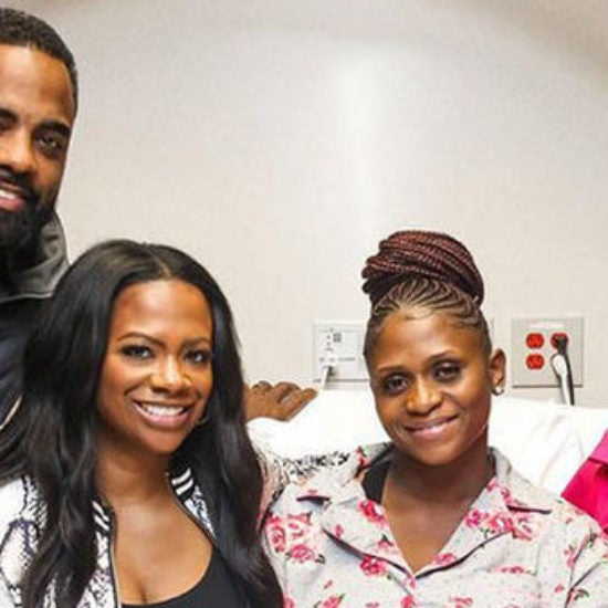 Aww! Kandi Burruss Thanks Her Surrogate And Dr. Jackie In A Sweet Post