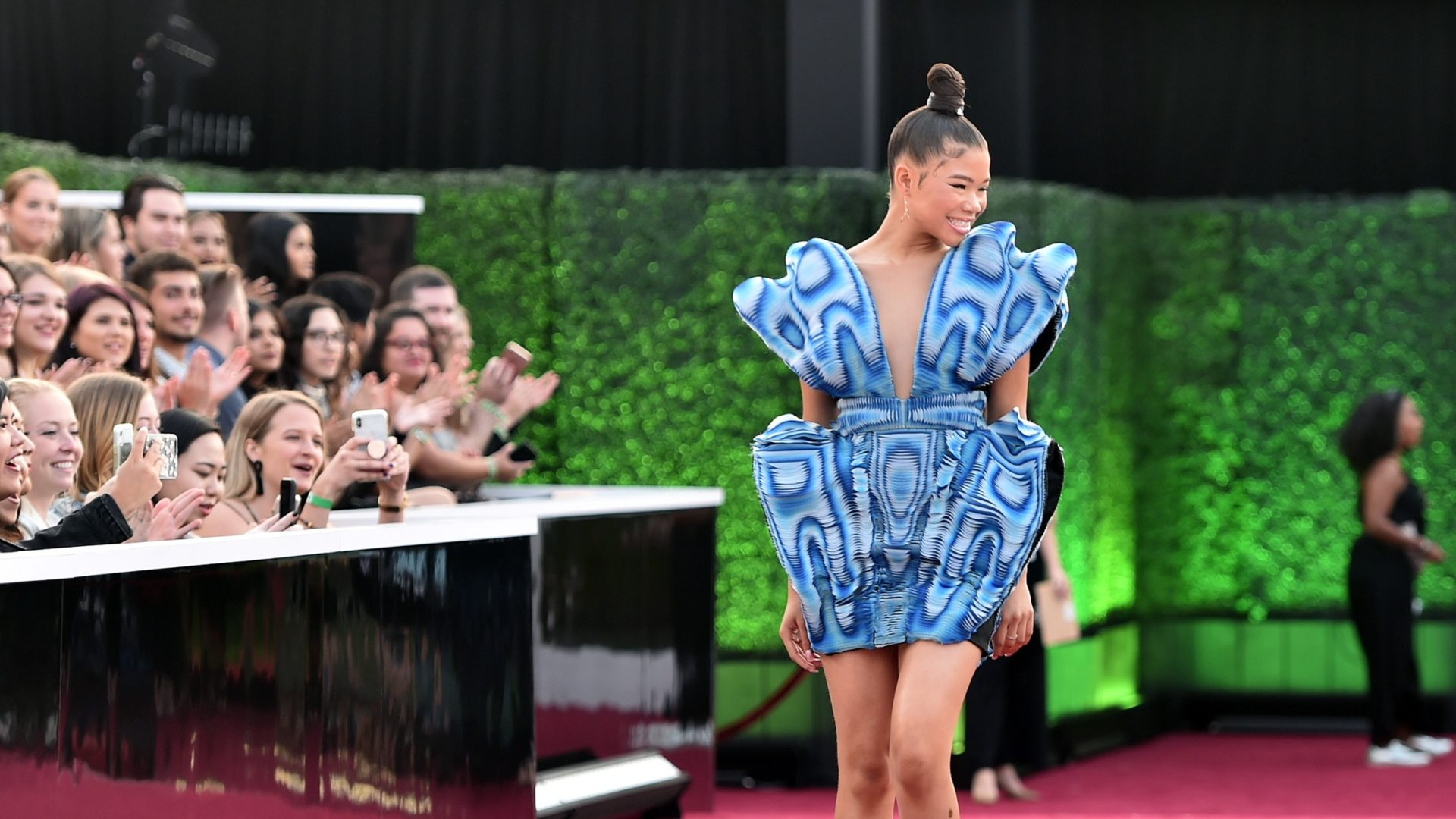 Storm Reid Electrifies The People's Choice Awards Red Carpet