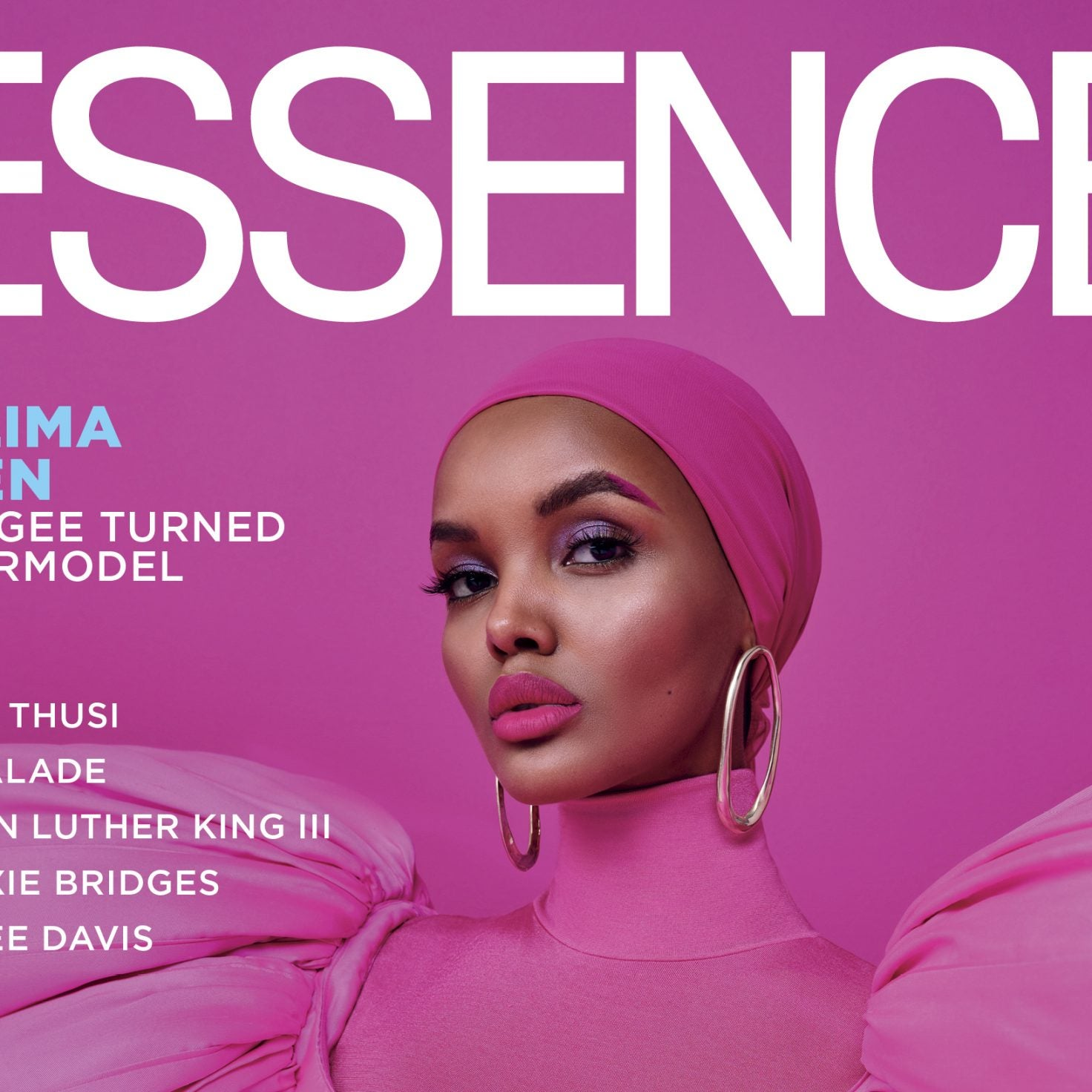First Look: Model Halima Aden Celebrates Disrupting Traditional Beauty Standards On January 2020 Cover Of ESSENCE