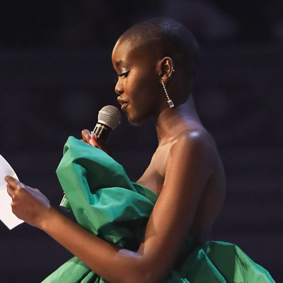 Adut Akech Calls For Greater Diversity In Model Of The Year Acceptance Speech At Fashion Awards