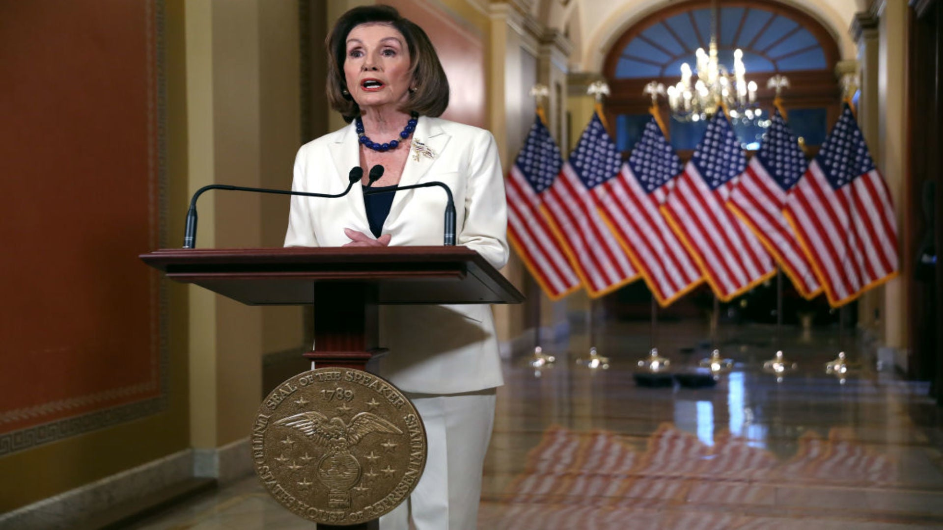 Pelosi: House To Move Forward With Articles Of Impeachment Against Trump