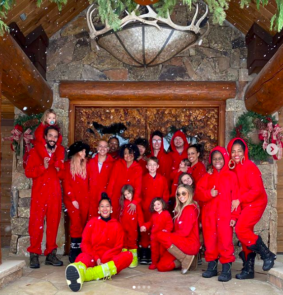 Here's How Your Favorite Celebrities Spent Christmas Day