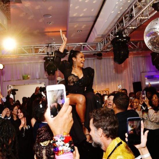 Black Hollywood Helps Tiffany Haddish Celebrate New Netflix Special With Black Mitzvah