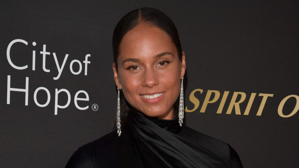 Alicia Keys Rocked A Musical Ponytail And Its A Masterpiece