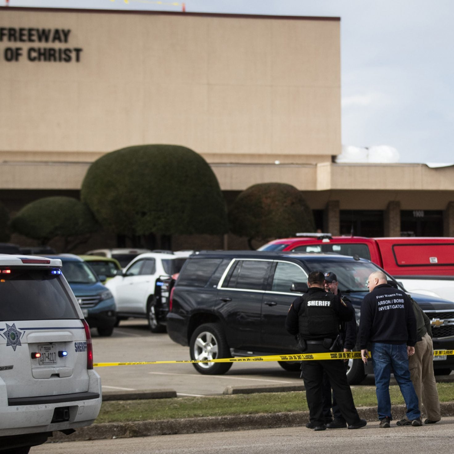 Gunman Kills 2 People At Texas Church, Before Being Shot By Churchgoer