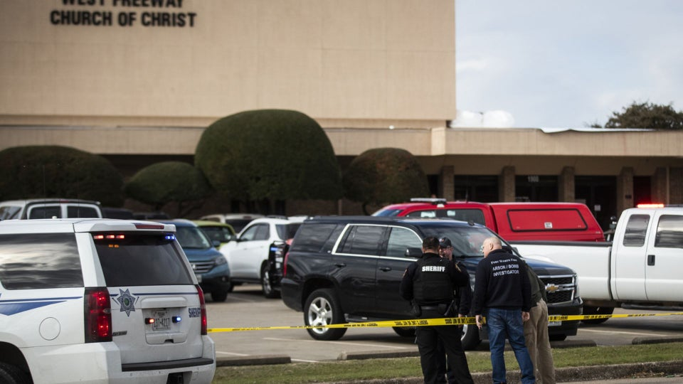 Gunman Kills 2 People At Texas Church, Before Being Shot By Churchgoer
