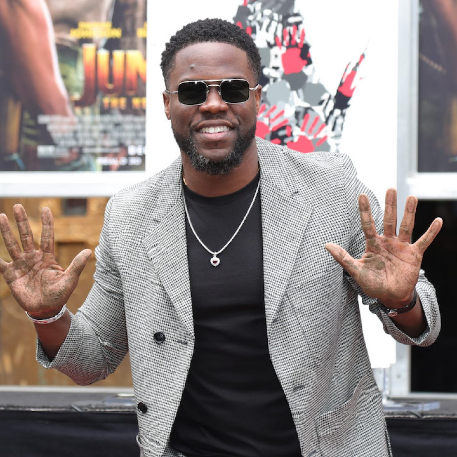 Kevin Hart Receives Foot And Handprint Ceremony At Historic TCL Chinese Theatre