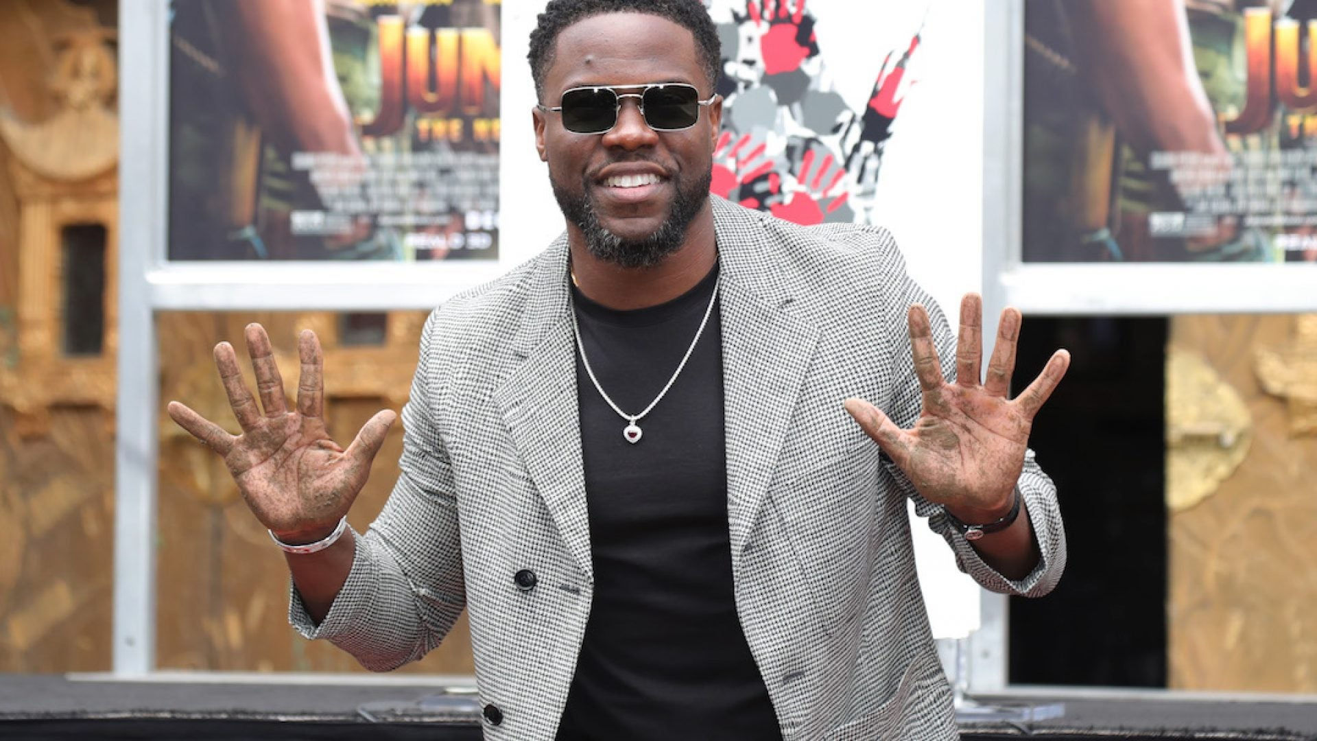 Kevin Hart Receives Foot And Handprint Ceremony At TCL Chinese Theatre