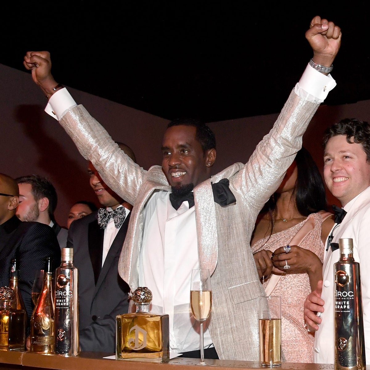 Everybody Was At Diddy's 50th Birthday Extravaganza