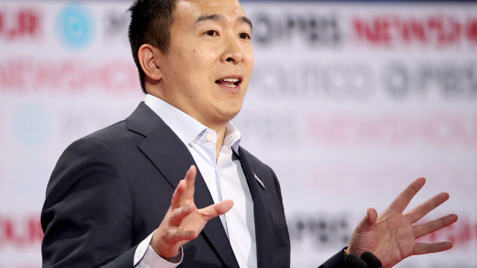Yang: It's 'An Honor And Disappointment' To Be The Only Candidate Of Color At 6th Debate