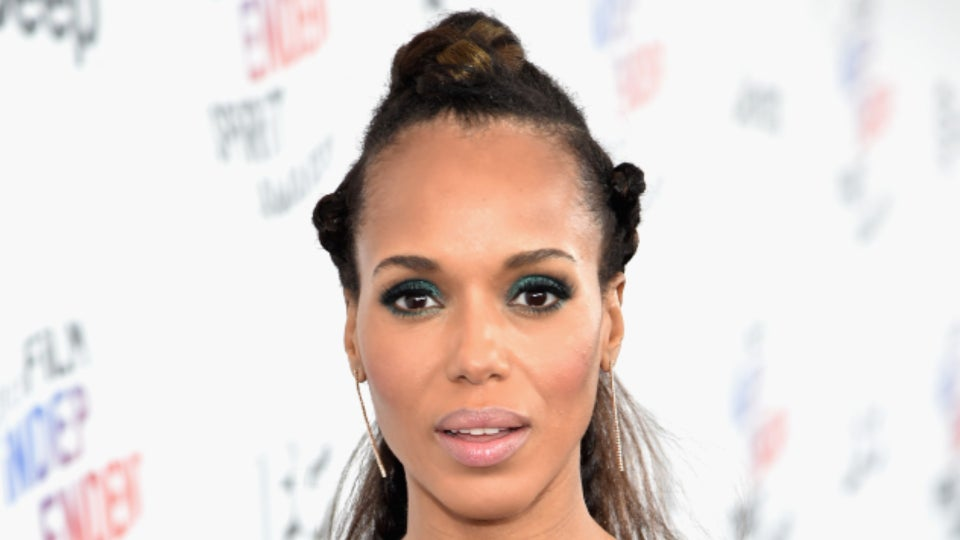 Kerry Washington Stuns In Sparkly Senegalese Twists