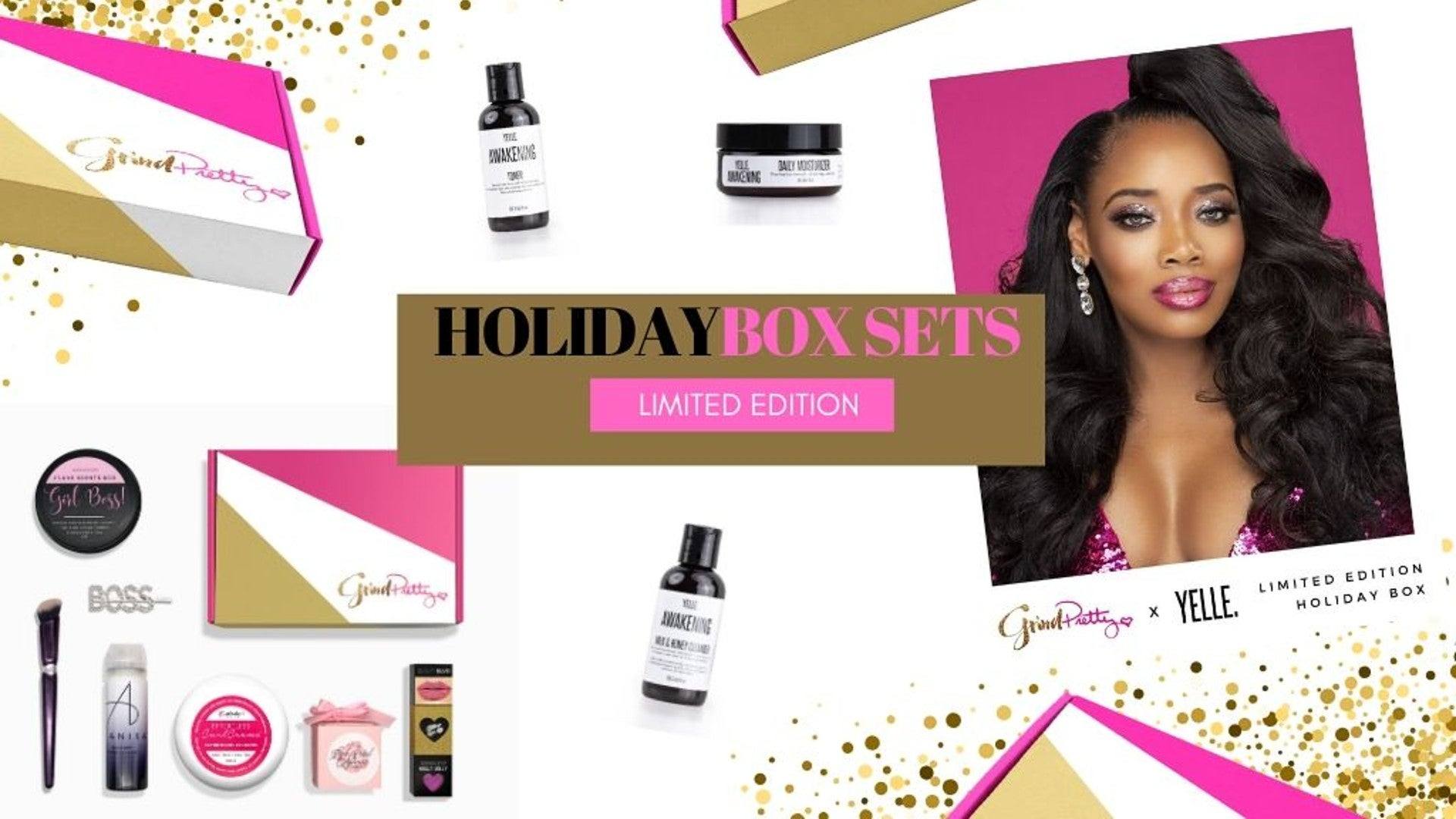 Yandy Smith Teams Up With Grind Pretty For Holiday Box