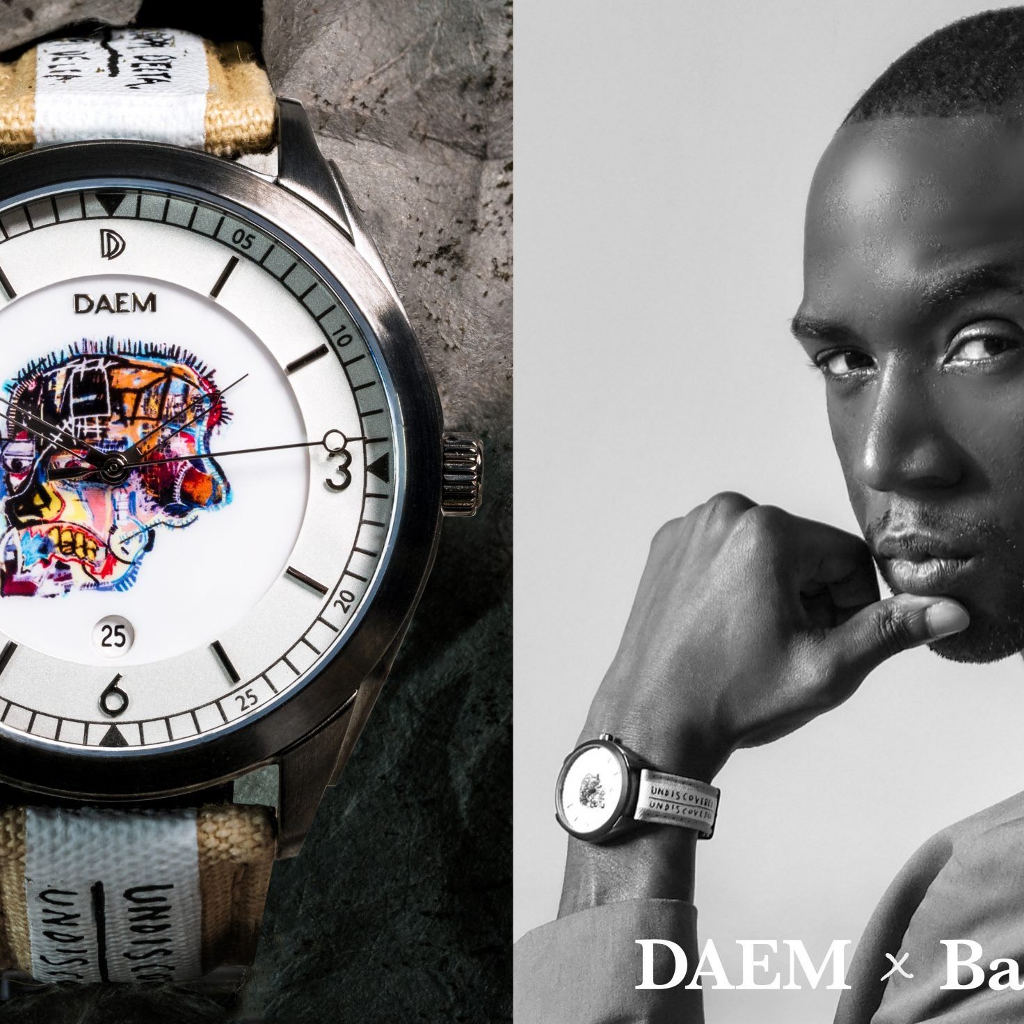 The DAEM x Basquiat Collaboration Tells More Than Time