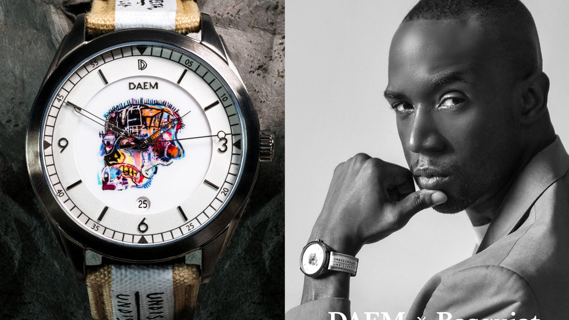 DAEM x Basquiat Collaboration Tells More Than Time