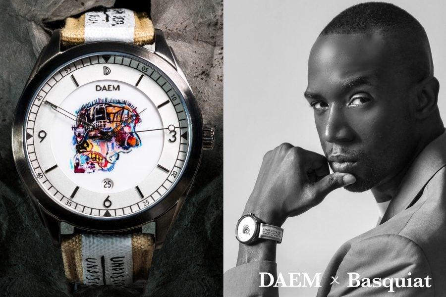 DAEM x Basquiat Collaboration Tells More Than Time