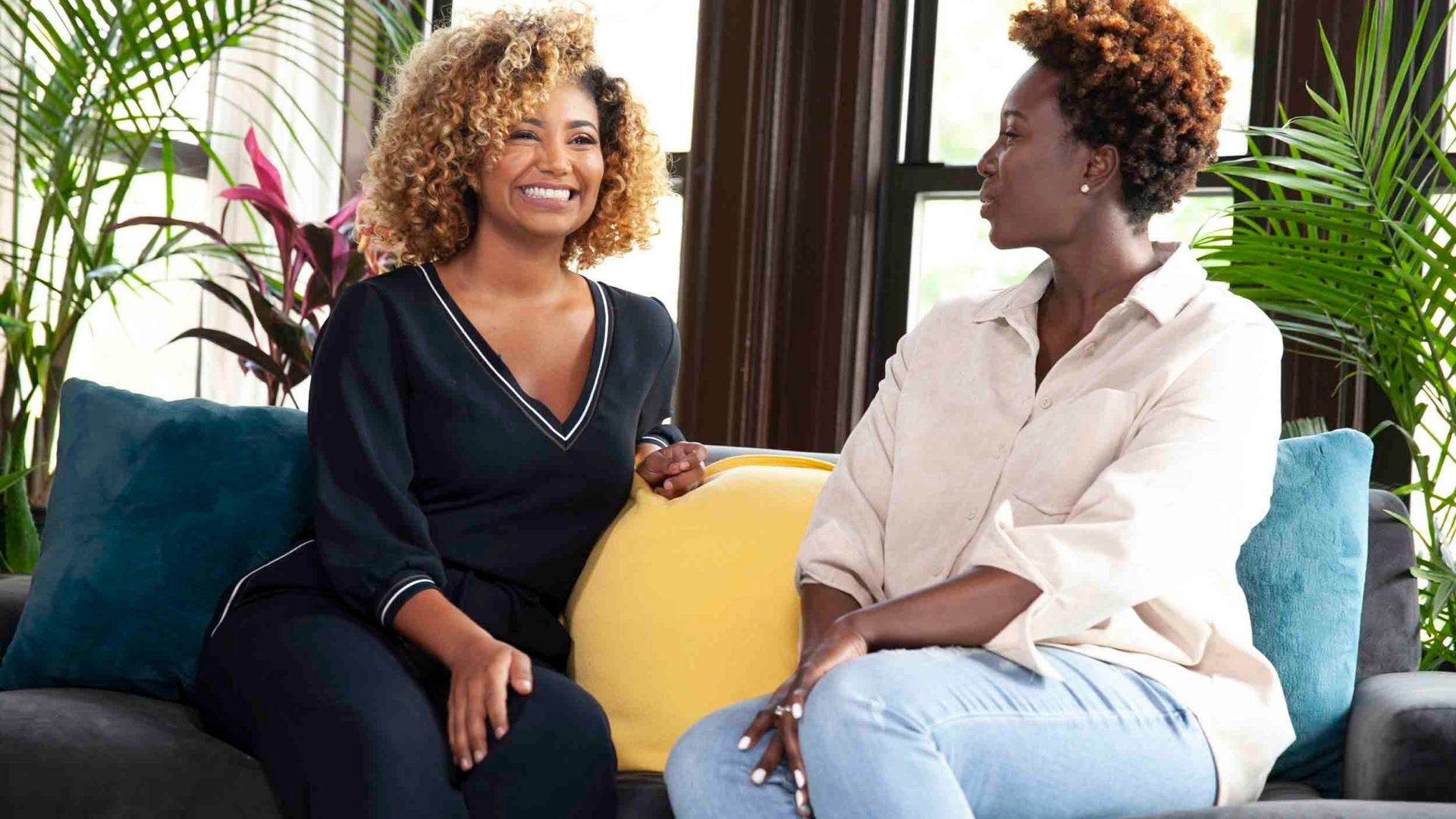 Curls & Conversation With The Curl Squad