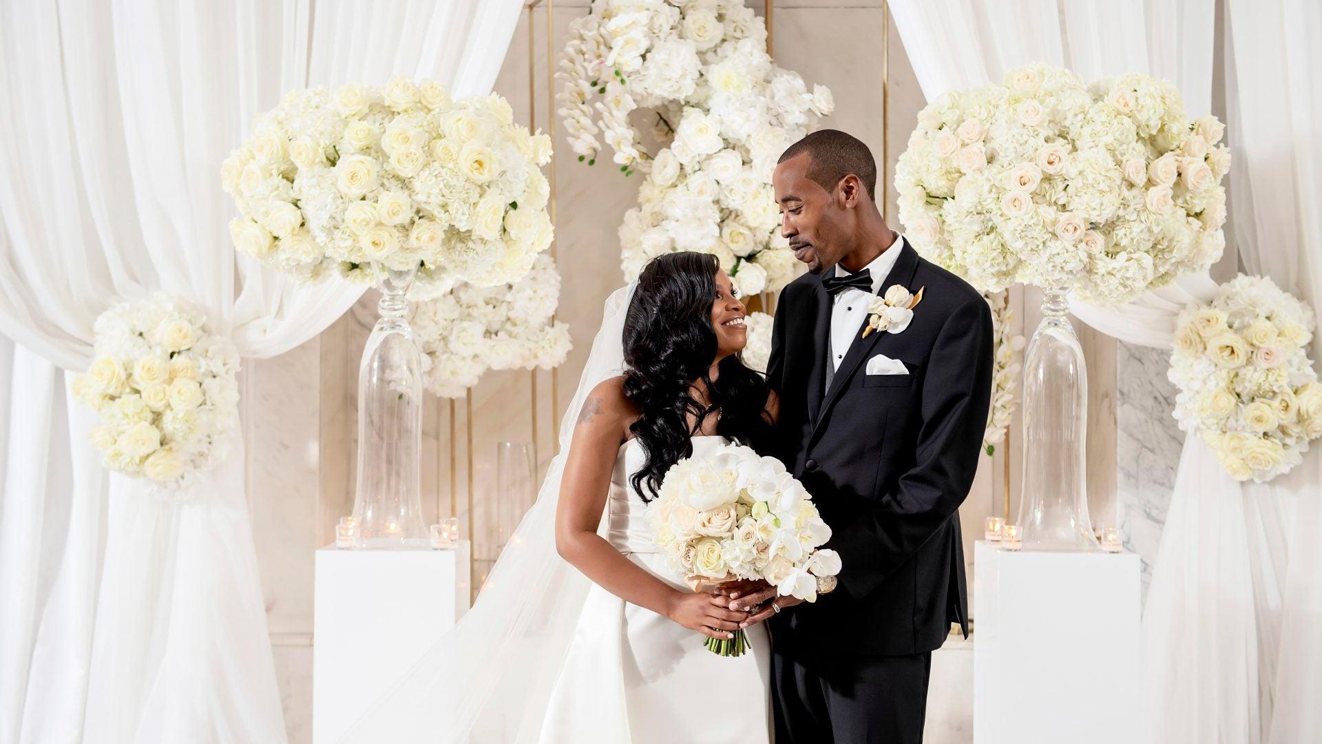 Bridal Bliss: Keyva And Gerard's Elegant Georgia Wedding