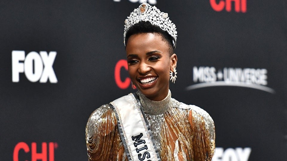 The New Miss Universe Is An Unapologetically Natural Black Beauty