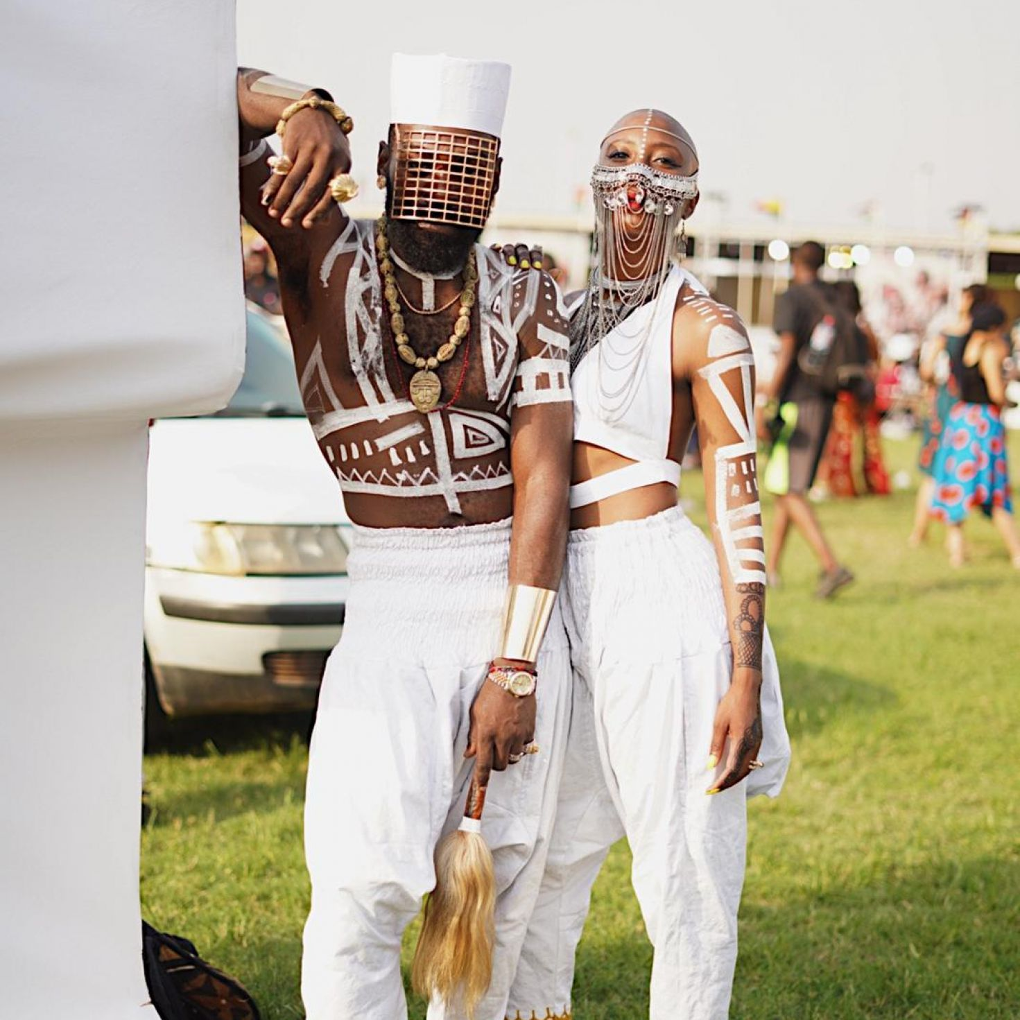 Style Tribes: These Fly Couples & Squads Turned All The Heads At Afrochella 2019