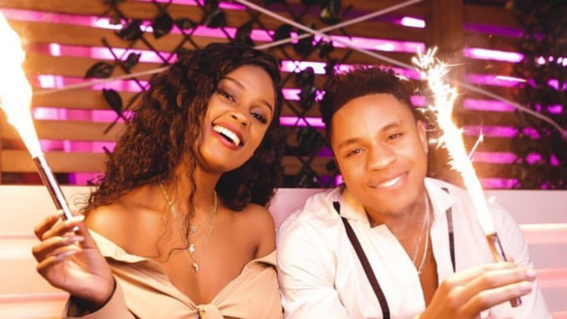 Hollywood Nigerian Actor Rotimi Proposes To His Tanzanian Girlfriend