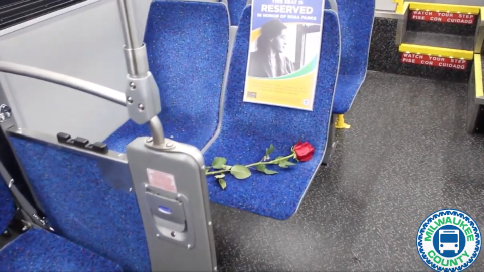 Milwaukee 'Saves A Seat' In Honor Of Rosa Parks On Every County Bus