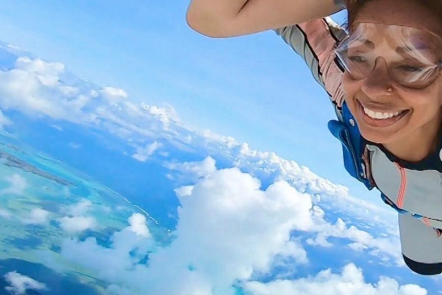 Singer Mya's Skydiving Adventure Is Bucket List Goals