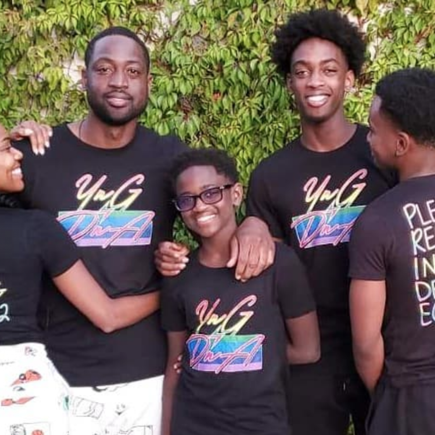 Fatherhood Goals! Dwyane Wade Supports His Son Zion Despite What Critics Say