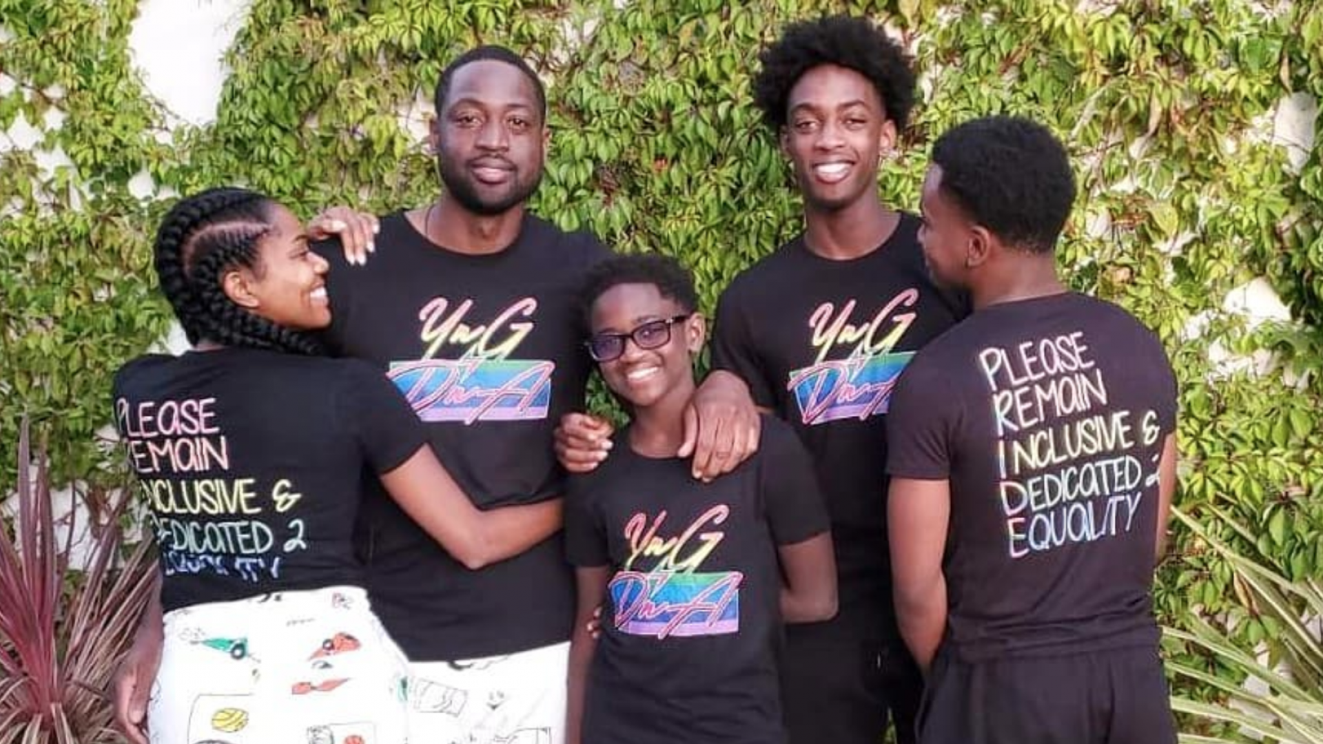 Dwyane Wade Speaks On Accepting His Son Zion's Sexuality