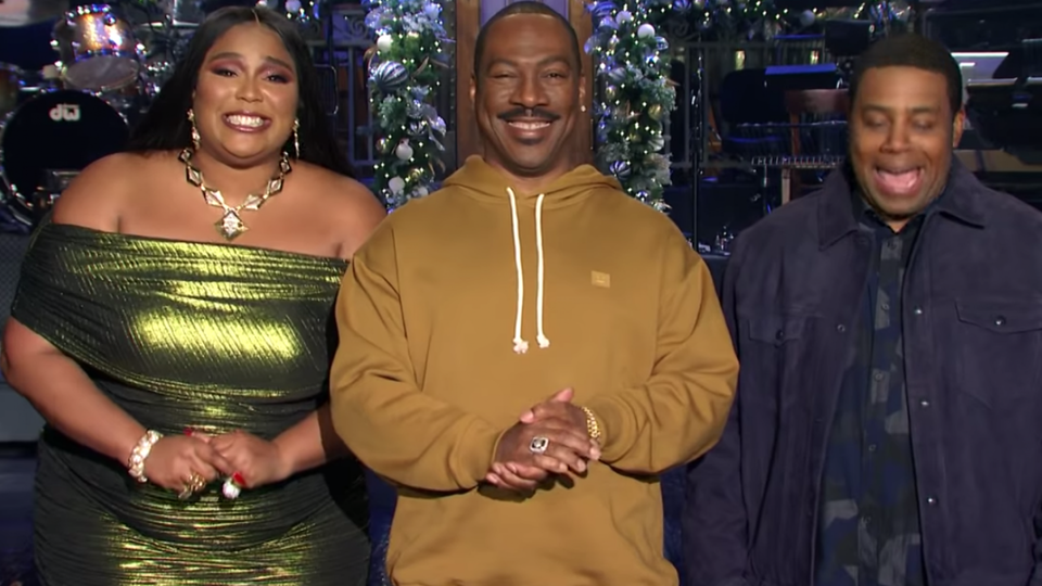 Lizzo Is Hilarious In New 'Saturday Night Live' Promos With Eddie Murphy