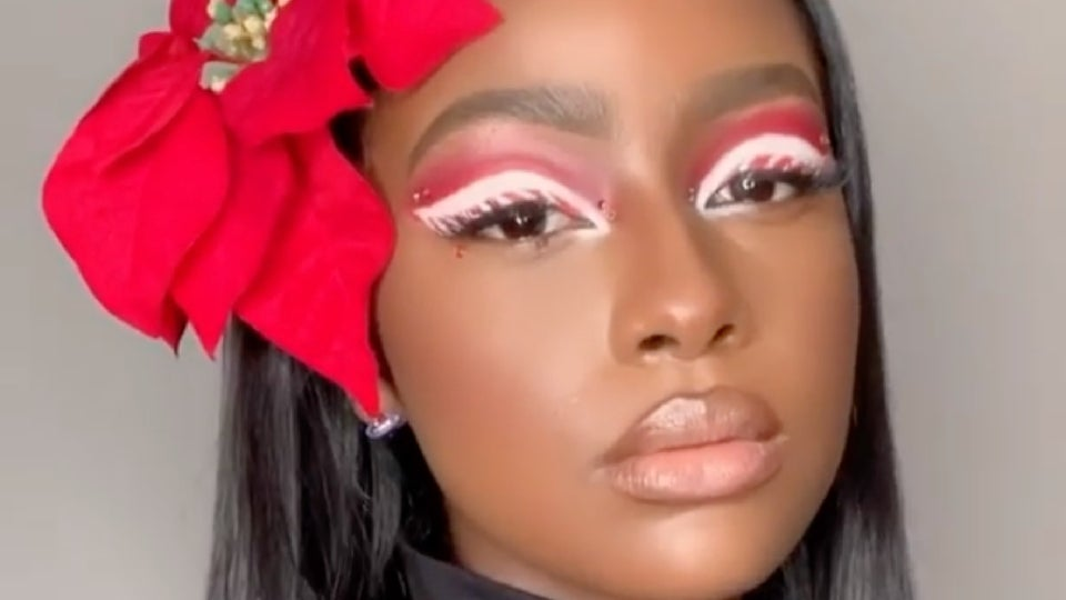 15 Makeup Looks That Will Get You In The Holiday Spirit