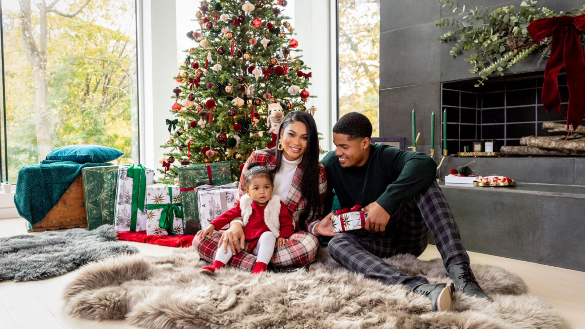Chanel Iman And Sterling Shepard Partner With H&M
