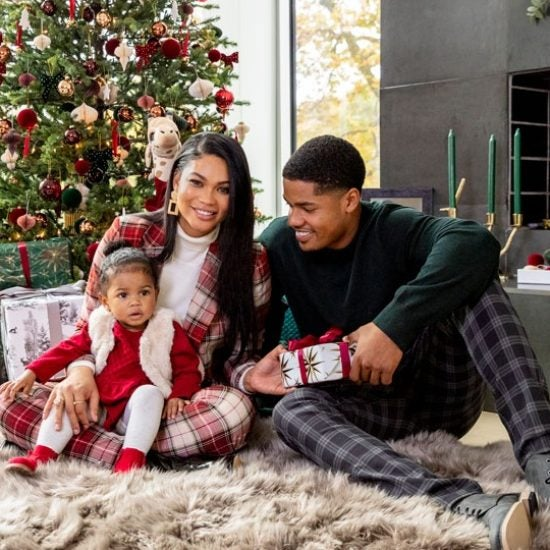 Chanel Iman And Sterling Shepard Partner With H&M For The Holidays