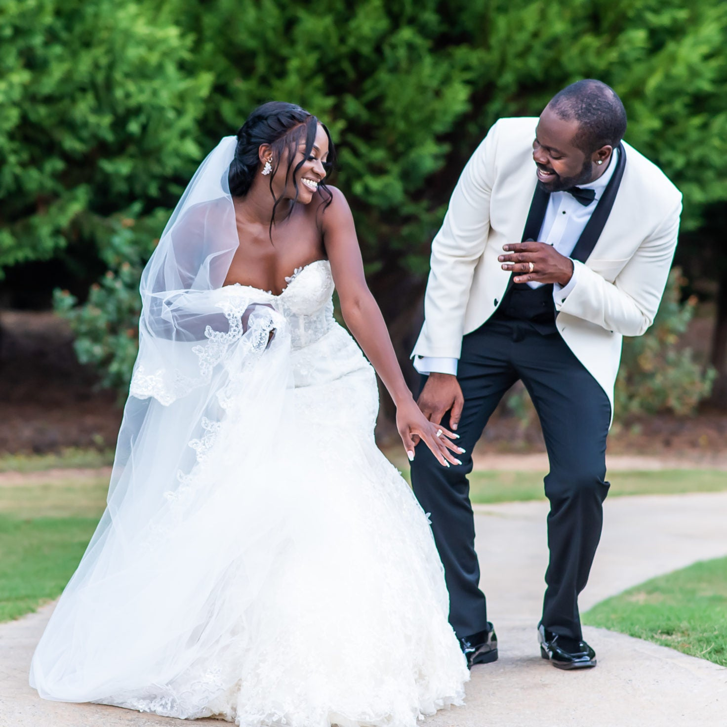 Bridal Bliss: Tolu and Lekan's Garden Chic Wedding Gave Us Classic Romance