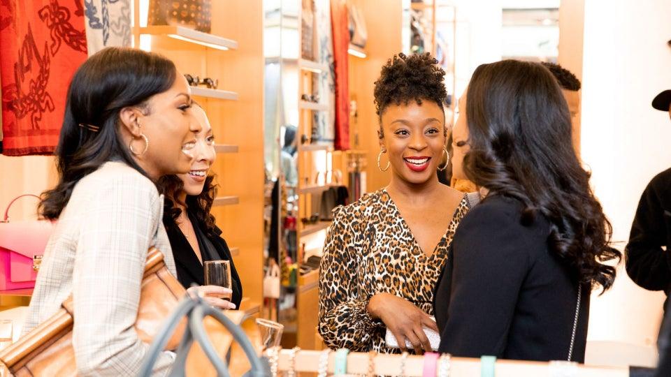 MCM Houston x Whitney Talks Host Holiday Event