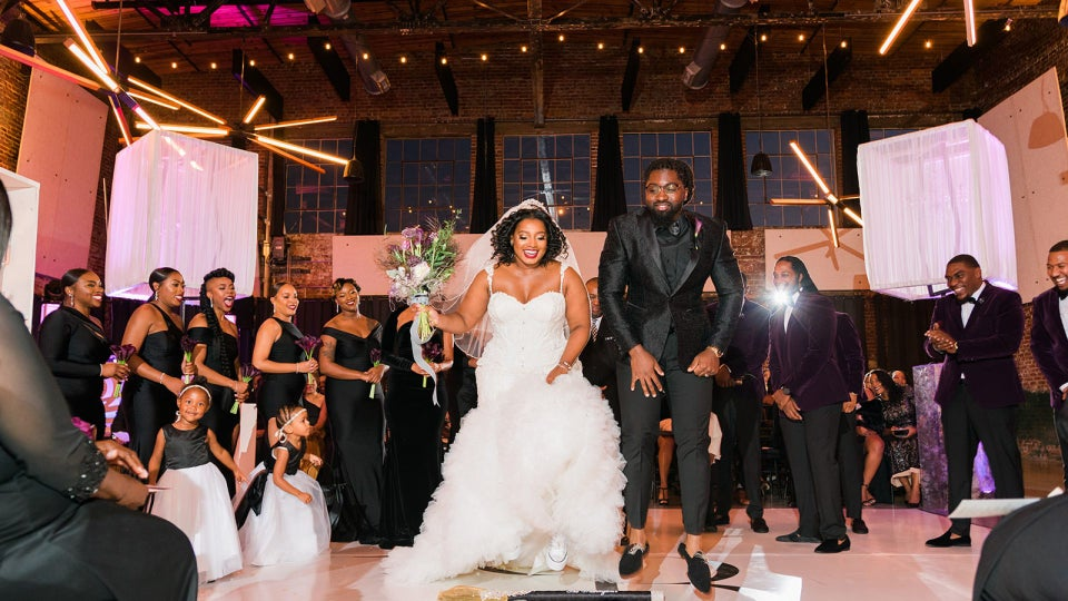 Bridal Bliss: Brandon and Brea's Industrial Chic Wedding