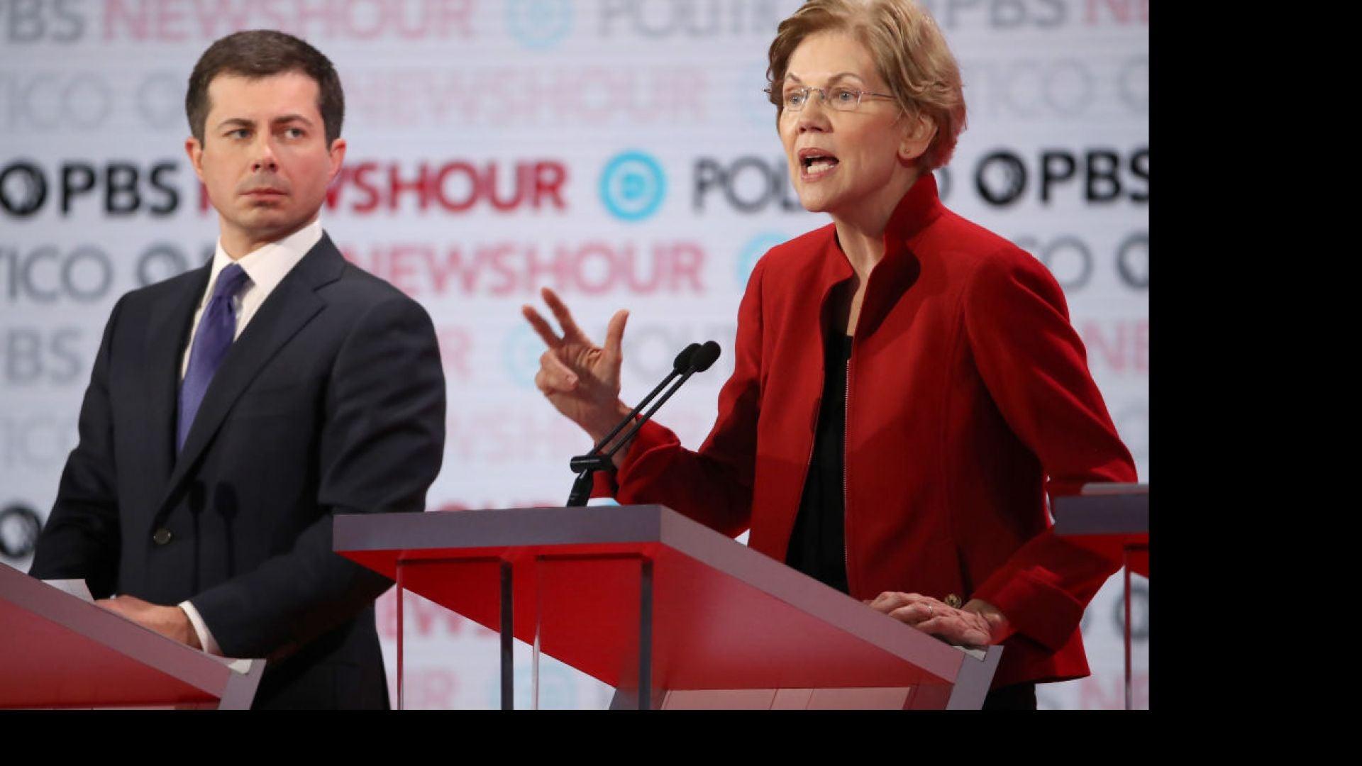 Buttigieg, Warren Spar In 6th Democratic Presidential Primary Debate