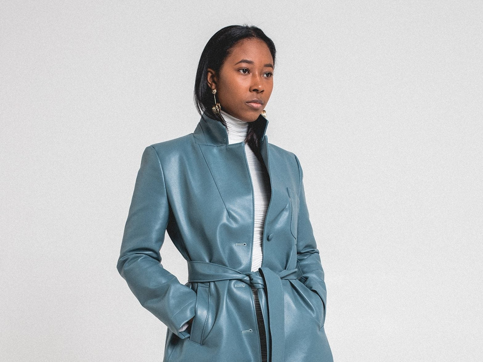 This Brand Is Bringing A Coy Edge To Fashion