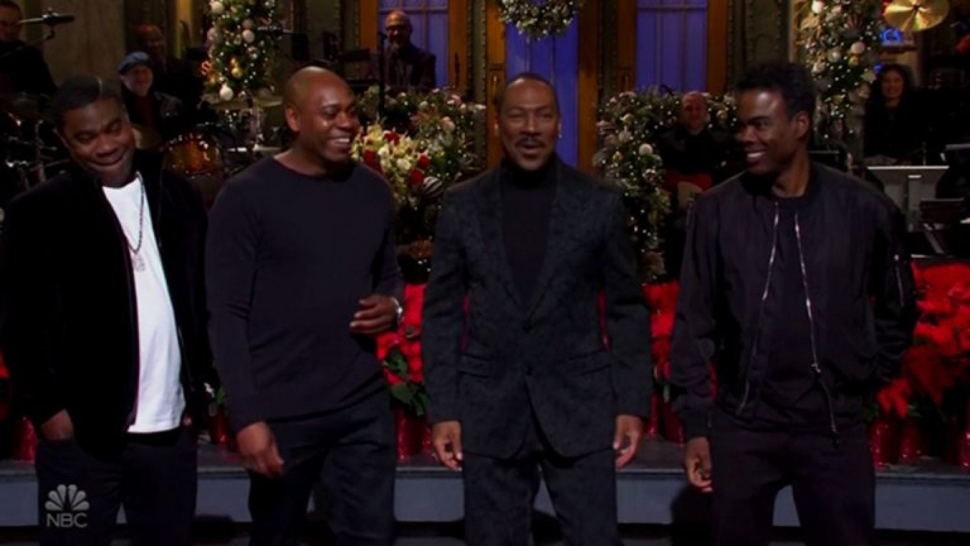 eddie murphy brings comedy kings dave chappelle chris rock and tracy morgan to his snl return essence eddie murphy brings comedy kings dave