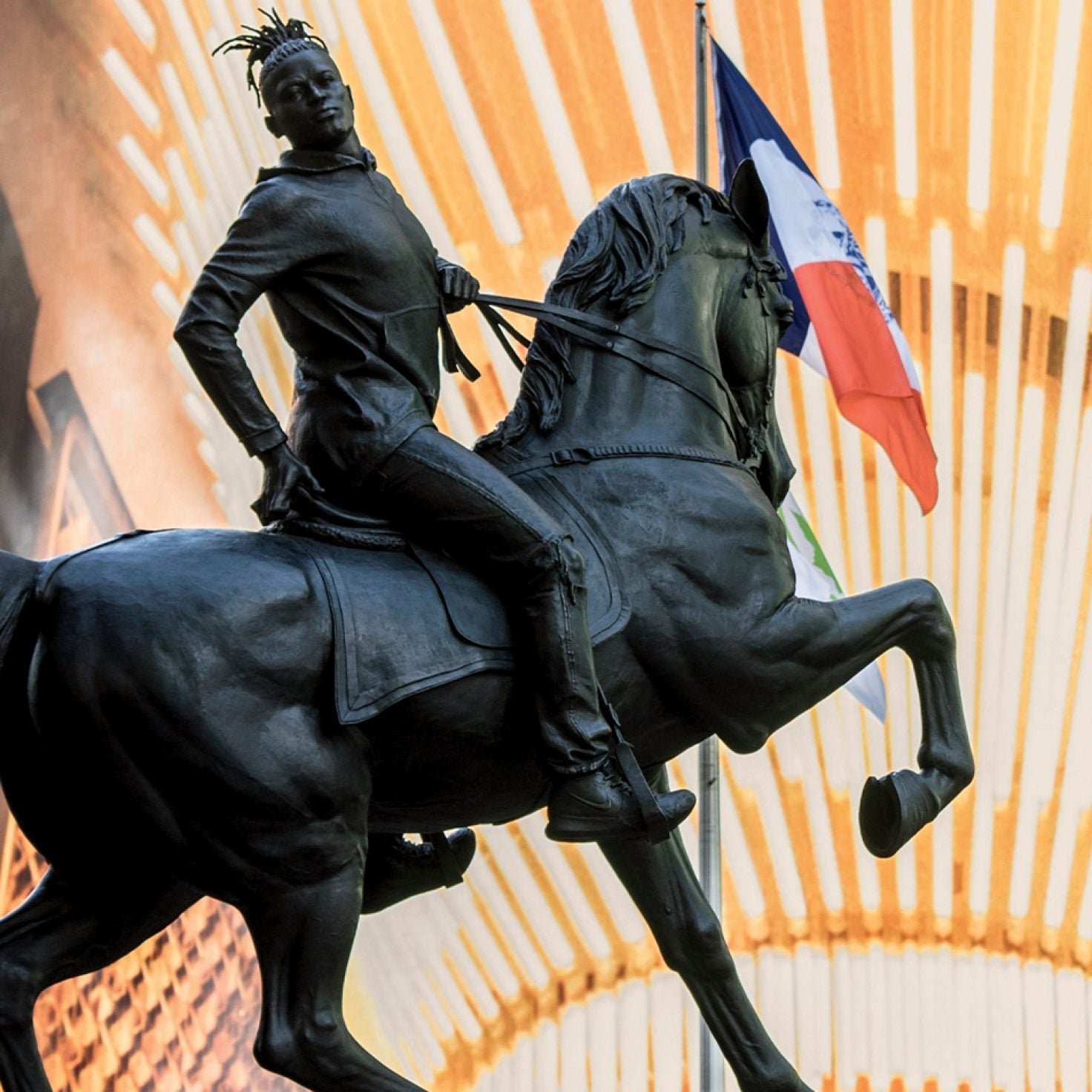 Regal Black Statue Unveiled In Former Capital Of The Confederacy + 9 Other Headlines We're Talking About