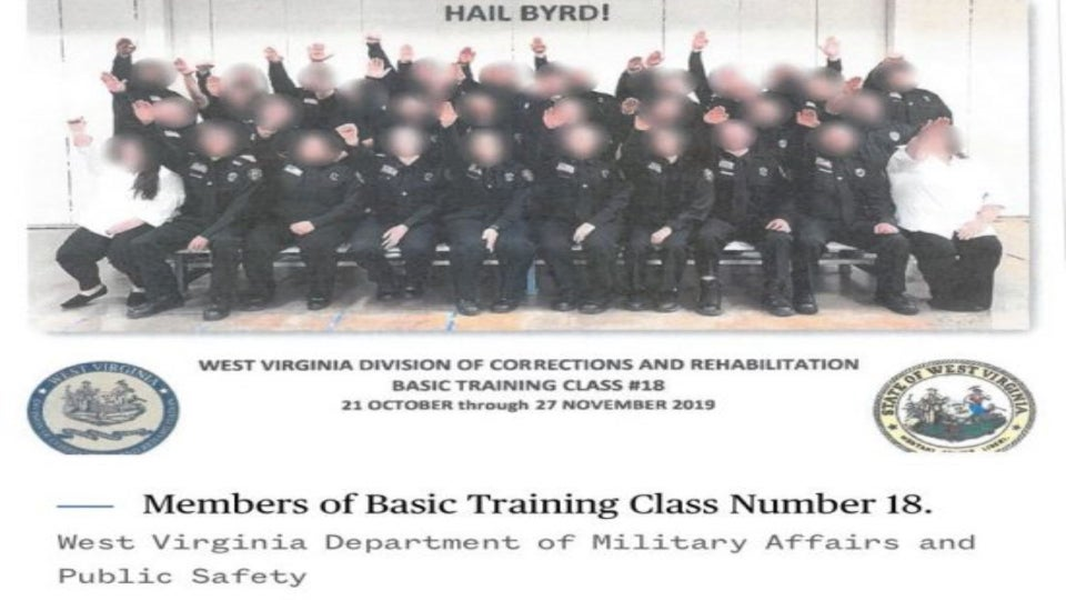 Three Fired Over Nazi Salute in West Virginia Corrections Employees