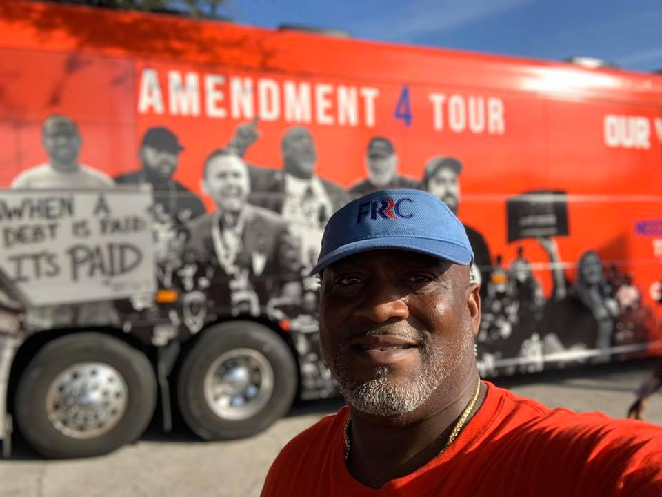 Desmond Meade, executive director of Florida Rights Restoration Coalition has been fighting on the front lines to restore voting rights to the formerly convicted without stipulations.