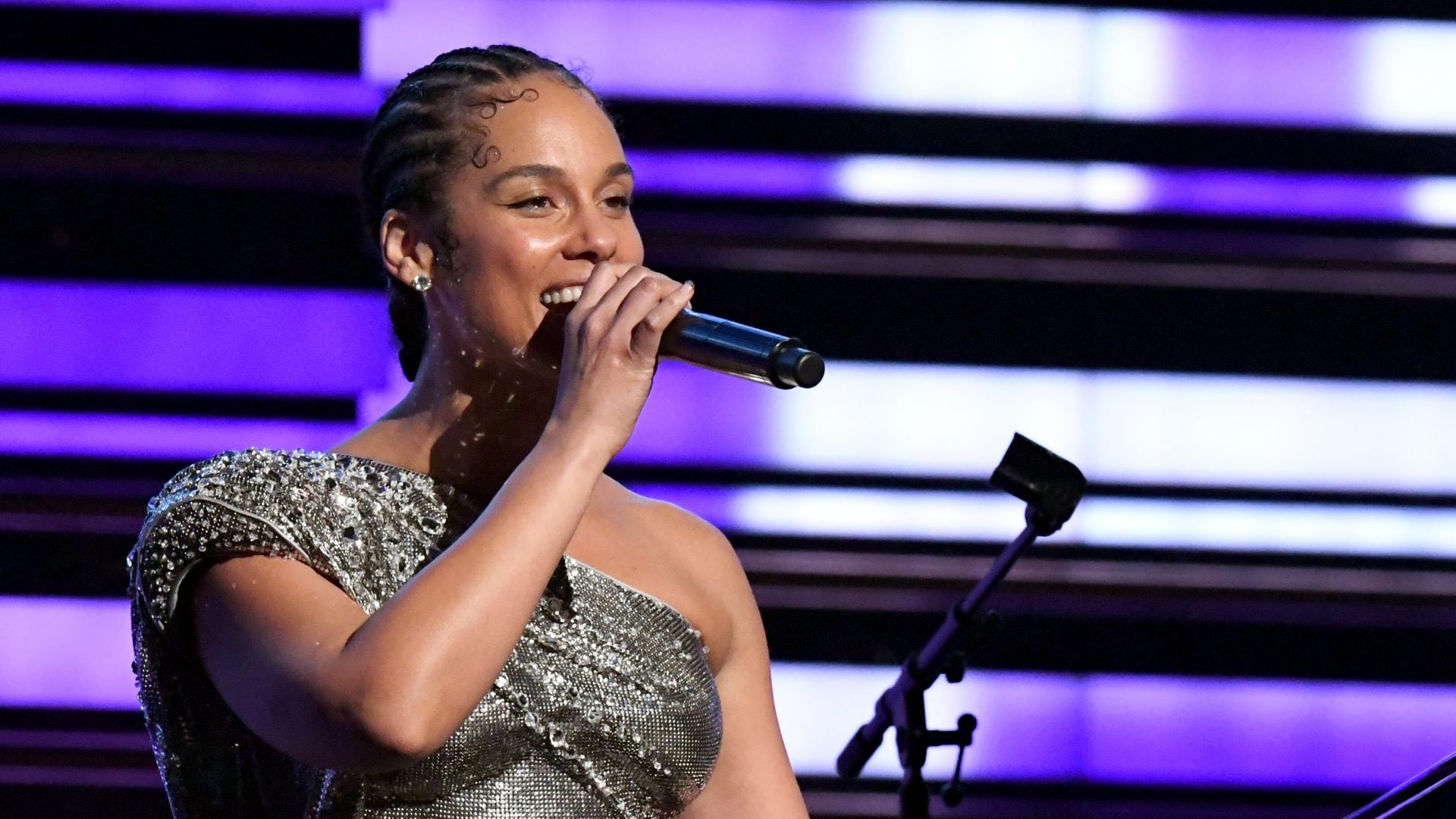 Every Single Outfit Alicia Keys Wore Hosting The Grammys