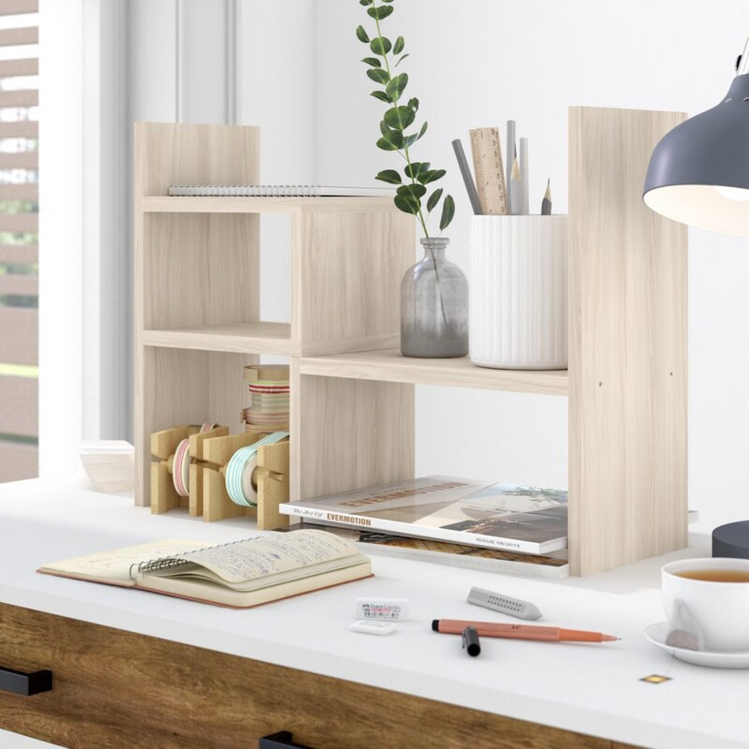 Get Your Work Space Together With These Chic Organizers