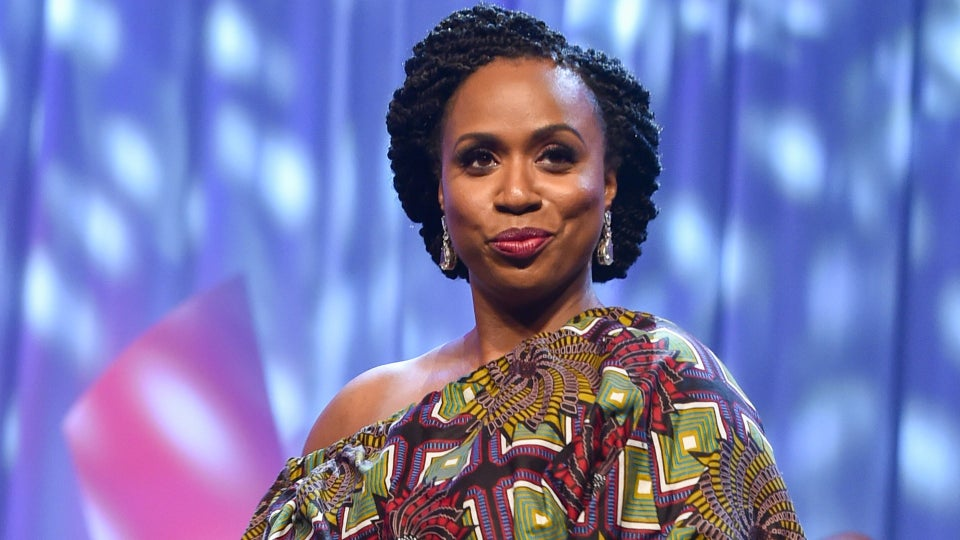 Ayanna Pressley Stands Before House For First Time With Bald Head