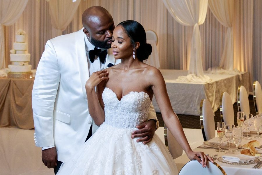Bridal Bliss: Barbara and Edmund's Classic Wedding Was So Fresh And Clean