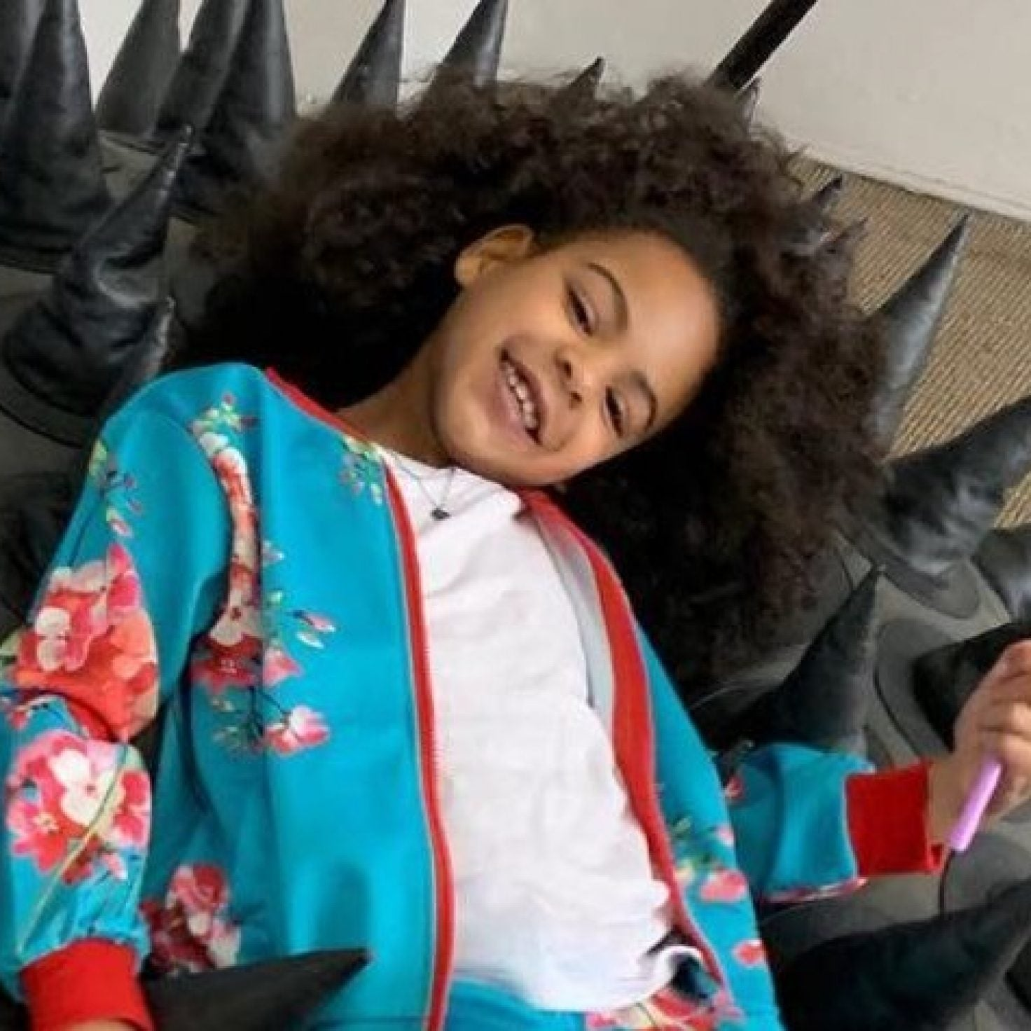 Blue Ivy Carter's NYE 'Do Just Gave Us All Hair Envy, Again
