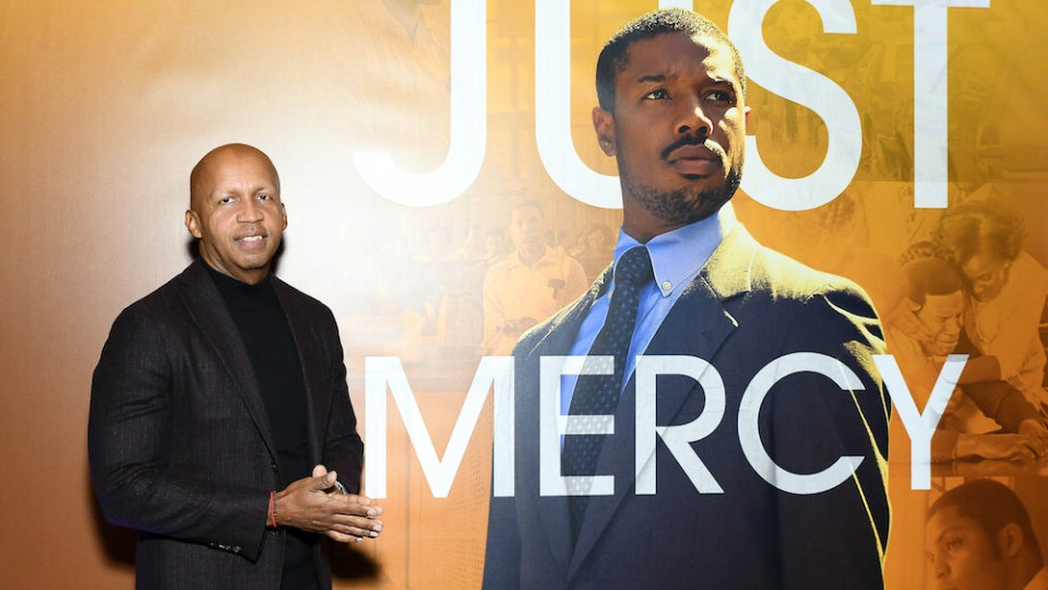 Bryan Stevenson Hopes 'Just Mercy' 'Motivates' Viewers 'To Get Involved' In Criminal Justice Reform