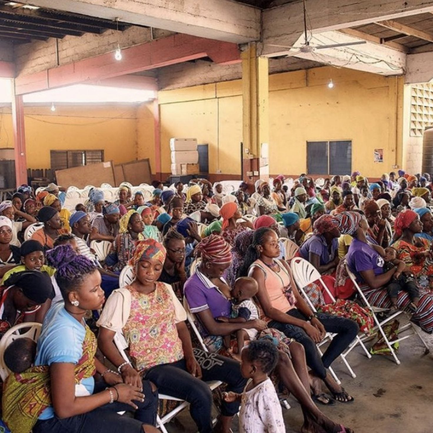 ESSENCE Full Circle Festival Offered Free Health Screenings For Women In Ghana, Discussions Around Ending Period Poverty & More