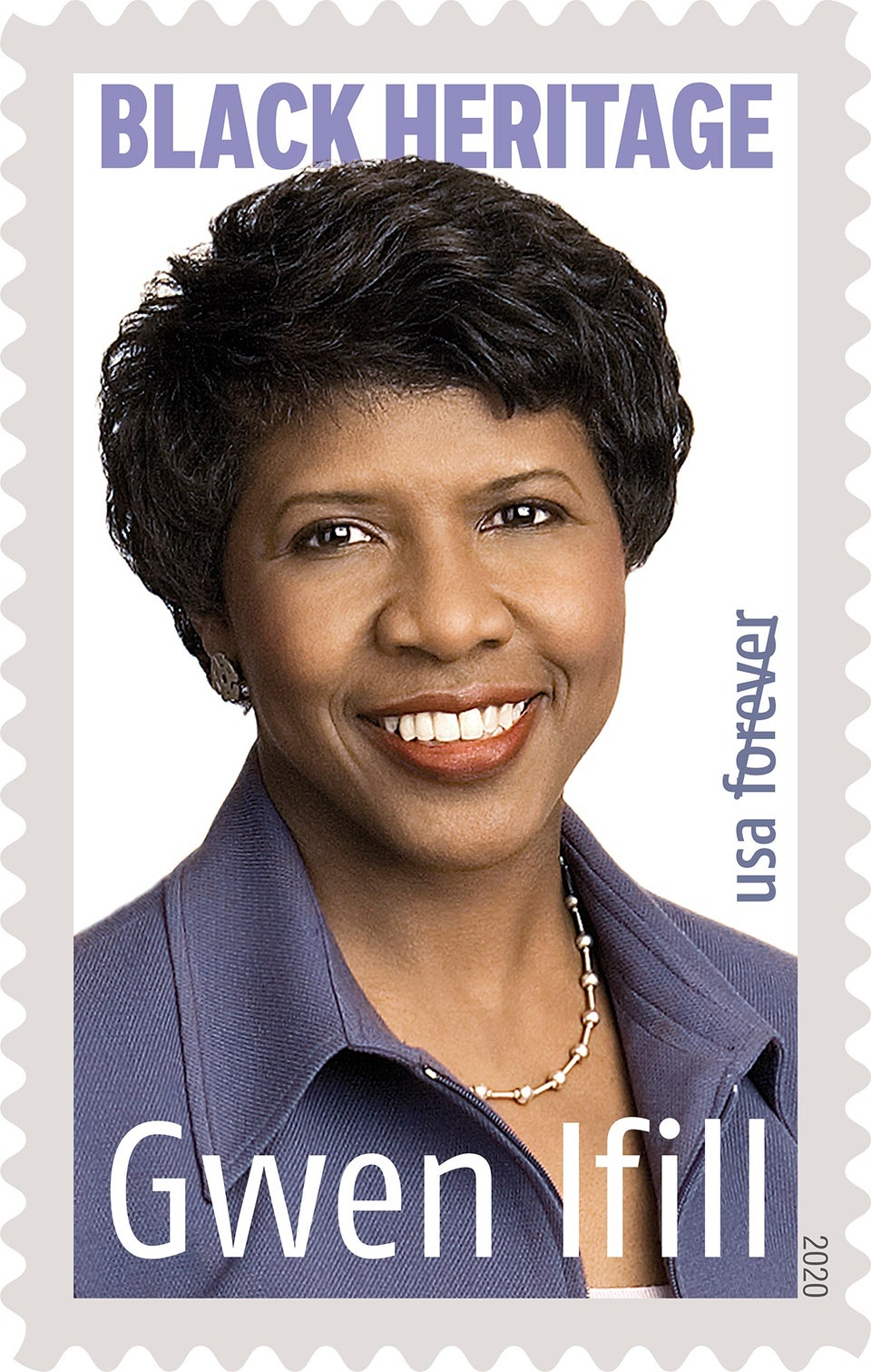 Journalist Gwen Ifill Honored With Black Heritage Forever Stamp