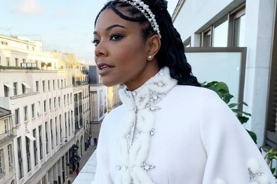 Get Gabrielle Union's Romantic Hairstyle With These Headbands
